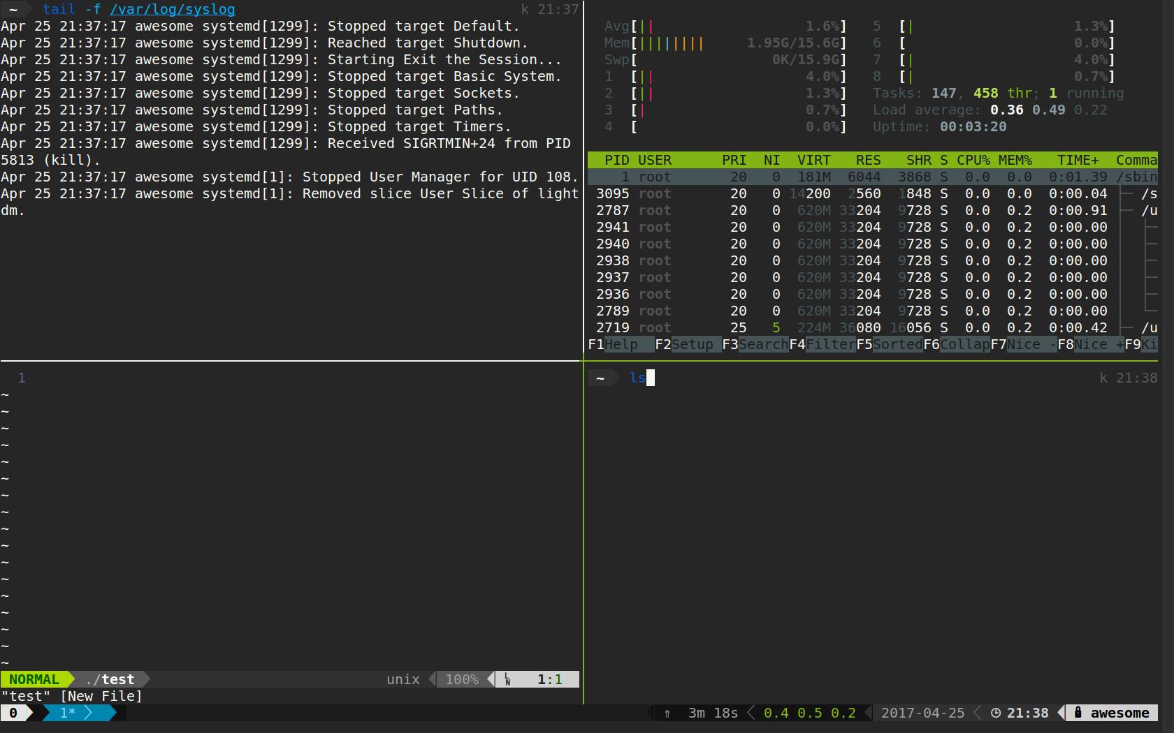 Tmux Configuration